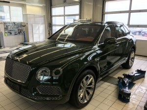 Bentley Bentayga Green